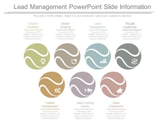 Lead Management Powerpoint Slide Information