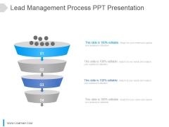 Lead Management Process Ppt Presentation