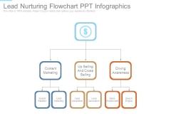 Lead Nurturing Flowchart Ppt Infographics