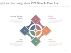 Lead Nurturing Ideas Ppt Sample Download