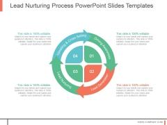 Lead Nurturing Process Powerpoint Slides Templates