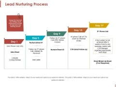 Lead Nurturing Process Ppt PowerPoint Presentation Portfolio Gridlines