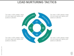 Lead Nurturing Tactics Ppt PowerPoint Presentation Example File