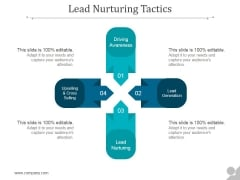 Lead Nurturing Tactics Ppt PowerPoint Presentation Images