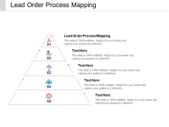 Lead Order Process Mapping Ppt PowerPoint Presentation Model Design Inspiration Cpb Pdf