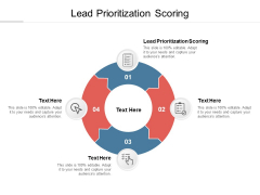 Lead Prioritization Scoring Ppt PowerPoint Presentation Background  Cpb