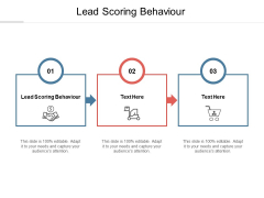 Lead Scoring Behaviour Ppt PowerPoint Presentation Show Samples Cpb