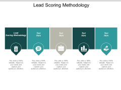 Lead Scoring Methodology Ppt PowerPoint Presentation Summary Samples Cpb