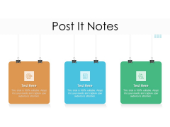 Lead Scoring Model Post It Notes Ppt Pictures Deck PDF