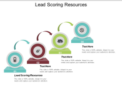 Lead Scoring Resources Ppt PowerPoint Presentation Show Clipart Cpb