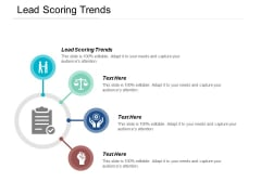 Lead Scoring Trends Ppt PowerPoint Presentation Gallery Ideas Cpb