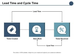 Lead Time And Cycle Time Ppt PowerPoint Presentation Summary Graphic Images
