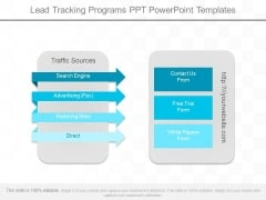 Lead Tracking Programs Ppt Powerpoint Templates