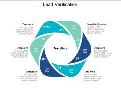 Lead Verification Ppt PowerPoint Presentation Professional Design Inspiration Cpb