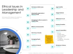 Leader Vs Administrators Ethical Issues In Leadership And Management Ppt Layouts Graphics Tutorials PDF