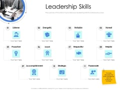 Leader Vs Administrators Leadership Skills Ppt Gallery Smartart PDF