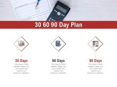 Leadership And Management 30 60 90 Day Plan Portrait PDF