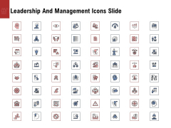 Leadership And Management Icons Slide Portrait PDF