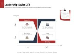 Leadership And Management Leadership Styles Decide Mockup PDF
