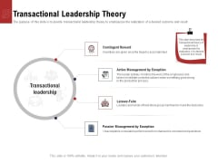Leadership And Management Transactional Leadership Theory Rules PDF