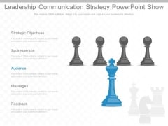 Leadership Communication Strategy Powerpoint Show