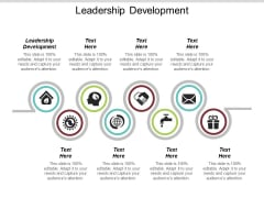 Leadership Development Ppt PowerPoint Presentation Professional Cpb