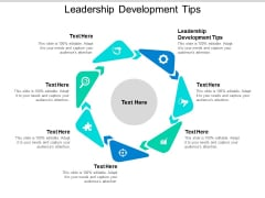 Leadership Development Tips Ppt PowerPoint Presentation Portfolio Show Cpb