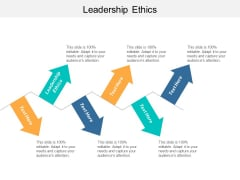 Leadership Ethics Ppt PowerPoint Presentation Model Deck Cpb