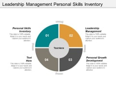 Leadership Management Personal Skills Inventory Personal Growth Development Ppt PowerPoint Presentation Ideas Templates