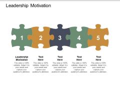 Leadership Motivation Ppt PowerPoint Presentation Infographic Template Slideshow Cpb