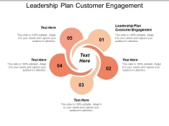 Leadership Plan Customer Engagement Ppt PowerPoint Presentation Show Graphic Images Cpb