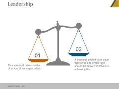 Leadership Ppt PowerPoint Presentation Infographics