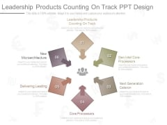 Leadership Products Counting On Track Ppt Design