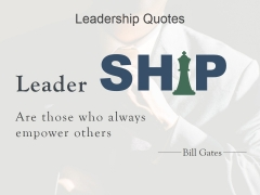 Leadership Quotes Template 3 Ppt PowerPoint Presentation Diagrams