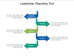 Leadership Reporting Tool Ppt PowerPoint Presentation Infographic Template Maker Cpb