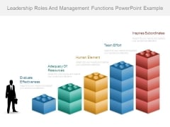 Leadership Roles And Management Functions Powerpoint Example