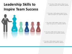 Leadership Skills To Inspire Team Success Ppt PowerPoint Presentation Ideas Structure