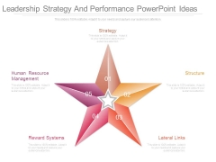 Leadership Strategy And Performance Powerpoint Ideas