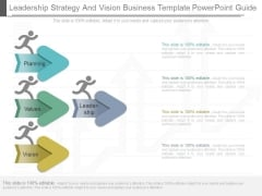Leadership Strategy And Vision Business Template Powerpoint Guide
