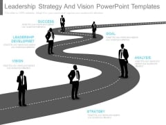 Leadership Strategy And Vision Powerpoint Templates