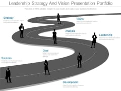 Leadership Strategy And Vision Presentation Portfolio