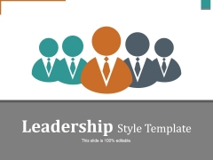 Leadership Style Template Ppt PowerPoint Presentation Icon Layout Ideas