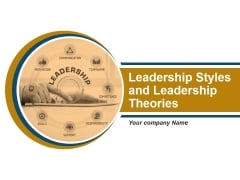 Leadership Styles And Leadership Theories Ppt PowerPoint Presentation Complete Deck With Slides