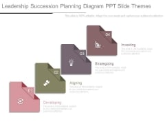 Leadership Succession Planning Diagram Ppt Slide Themes
