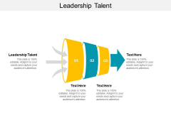 Leadership Talent Ppt PowerPoint Presentation Infographics Infographics Cpb