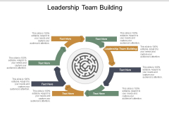 Leadership Team Building Ppt PowerPoint Presentation Gallery Graphics Example Cpb