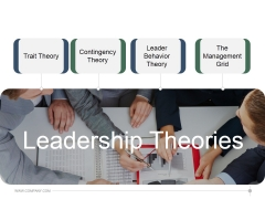 Leadership Theories Ppt PowerPoint Presentation Styles