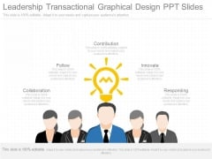 Leadership Transactional Graphical Design Ppt Slides