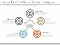 Leadership Transactional Template Presentation Backgrounds