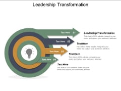 Leadership Transformation Ppt PowerPoint Presentation Styles Aids Cpb